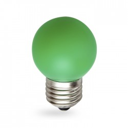 Светодиодная лампа Feron LB-37 1W E27 зеленая